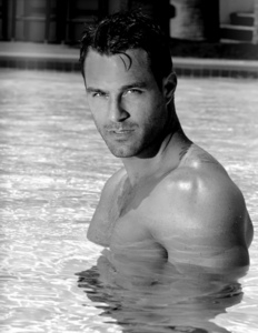 Post a picture of an actor in water.