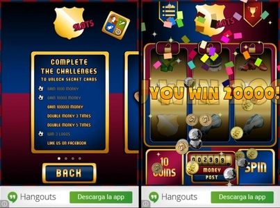 HI, all! CHECK OUT AND TEST MY BARCELONA SLOTS APP! 4 FREE :) download here: http://bit.ly/1glwVIY Follow: www.fb.com/BarcelonaSlots