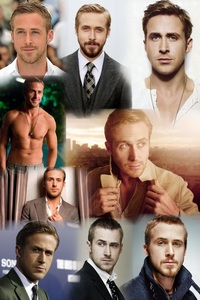 Post a picture of an actor which is a collage.