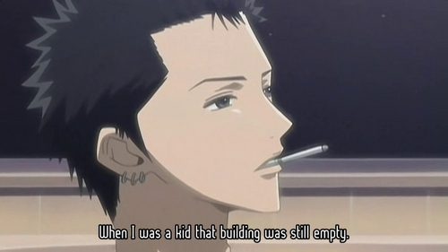 Post an Anime Guy/Girl that smokes (or with a cigarette in his hand/mouth)...