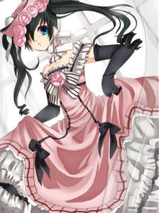 Ummm did someone know what episode that he wear this dress.....Ciel Phantomhive