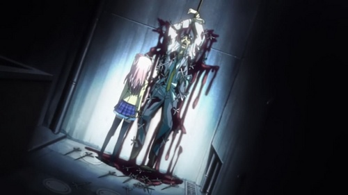 Post a gruesome and gory as well as bloody scene
