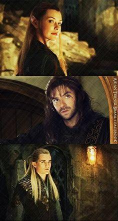 the hobbit 3 legolas and tauriel relationship
