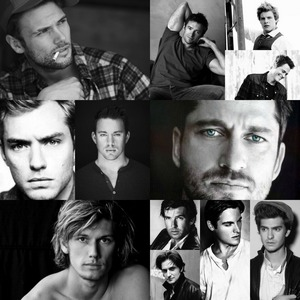 Post a collage of several different actors