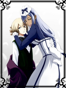 Post a picture of a maid and her master