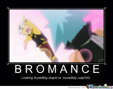 Post male characters showing/displaying bromance