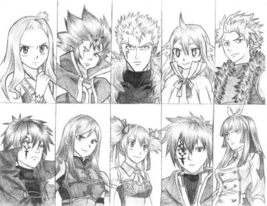 Who is the best Fairy Tail character?