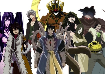 If you would form your own anime villain team, who would you like in your team?