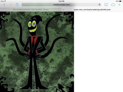 Am I the only one who thinks nergal from the grim adventures of billy and Mandy is hot?