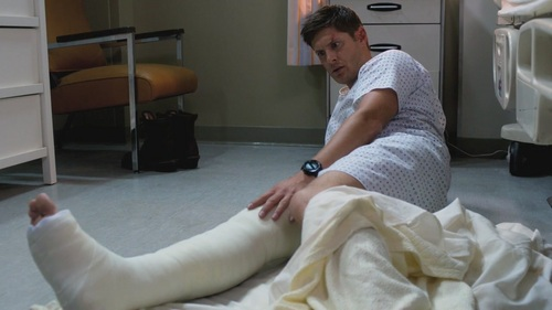 Post a pic of your actor in the hospital.