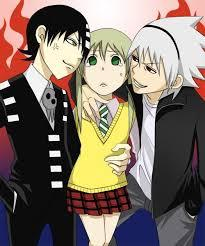 Post A Pic Of Maka Albarn Soul Eater Evans And Death The