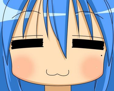 Post an anime character of lucky star.