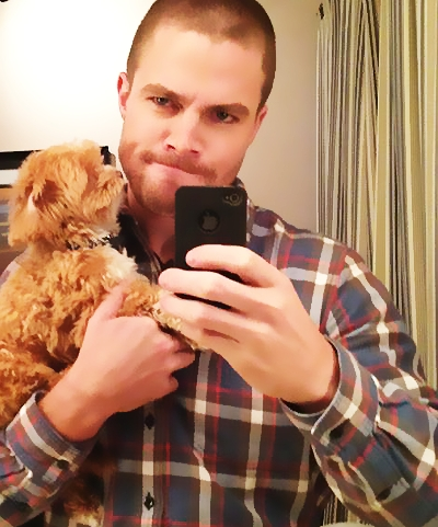 Post a pic of an actor with a dog.