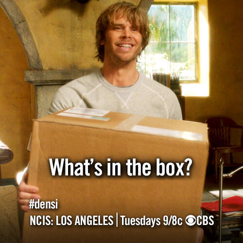 Did Deeks ever open the box he received from Kensi