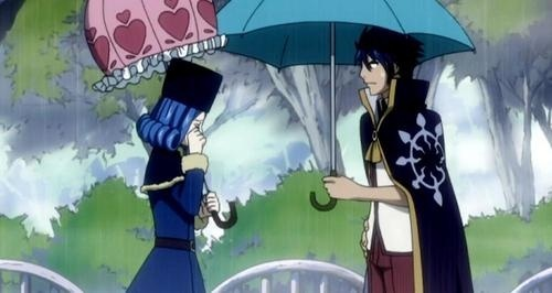 anime Characters With Umbrellas