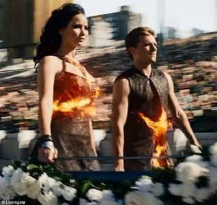 What is your favourite scene from catching fire?