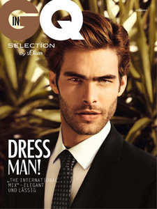 Post a pic of an actor for GQ magazine.