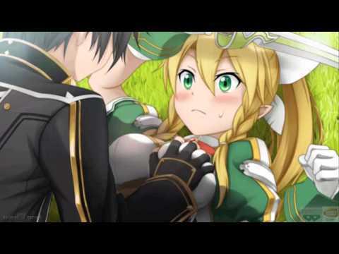 Kirito and leafa suguha tgt t t sword art online answers fanpop