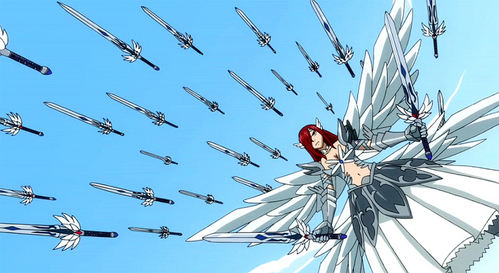 Post A Female Anime Character Who Wields Weapon