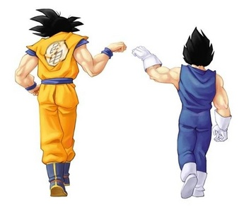 日本动漫 Characters With A Fistbump