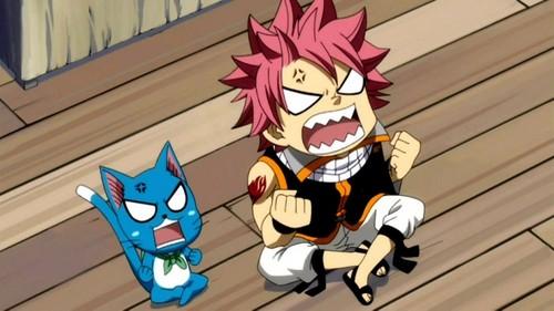 Anime character angry.