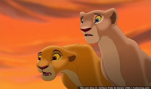 Do you think Nala should have had a say in Kovu being banished.