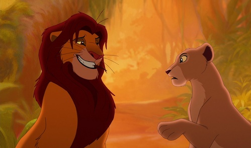 Do anda think that Simba and Nala would have fell in Cinta if they had grown up with each other?