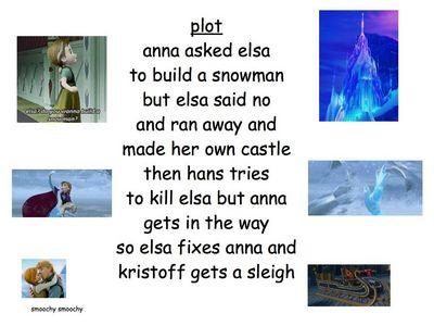 겨울왕국 in a nutshell.