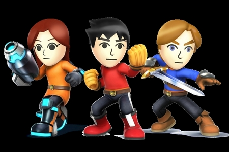 did আপনি know mii were going to be in smash bros brawl but বিভক্ত করা for smash bros 4