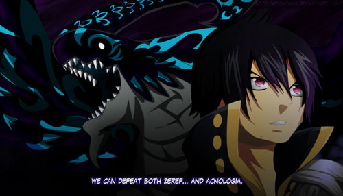 Do Du really think Zeref turned Acnologia into a dragon?
