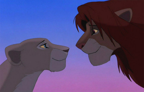 Do you think Simba and Nala mated during the Can you feel ...