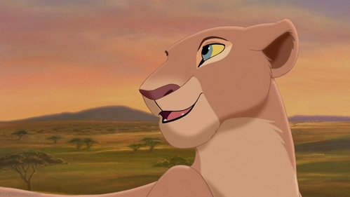 It is said that Nala had a sexual vibe especially towards Simba in both TLK and Simba's Pride. Do you agree with that?