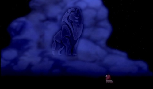 Do toi think Mufasa's Ghost should have told Simba that it was Scar's fault that he died.