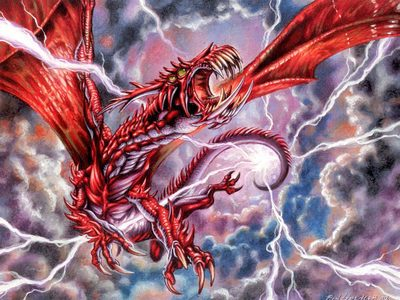 What are some great thunder/lightning dragon names?