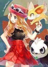 Does anyone else here like Serena the Pokémon Trainer like I do?