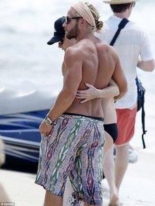 Post an actor from the back.