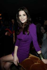 Post a pic of an actress wearing purple