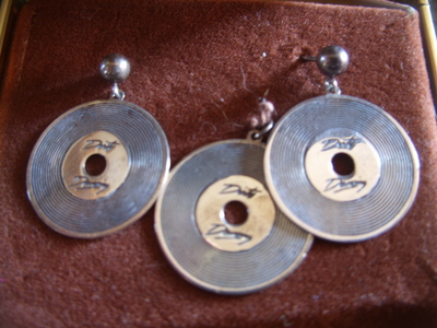 Does anyone know where these came from? They are vintage. collar pendant and pierced earrings. Sterling Silver