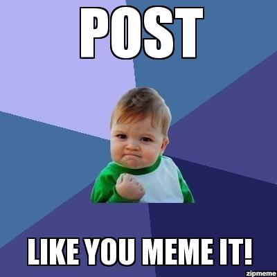 Do 당신 like memes?