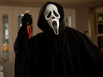 The movie SCREAM did really frightened you?
