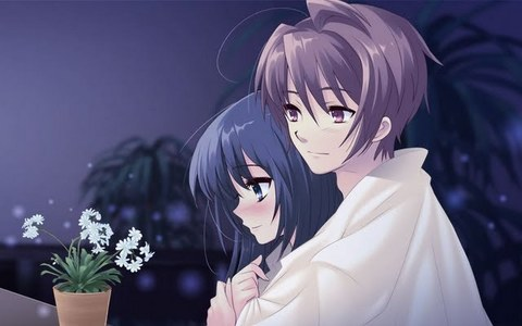 Post as cute Anime couple, is doesn't matter if it is a random o an from anime.