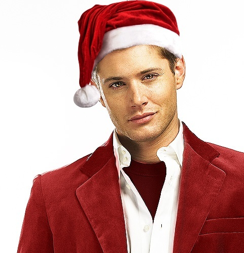 Post a Christmasy pic of your actor.