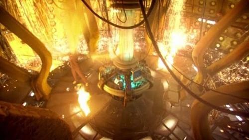Regeneration=Burning TARDIS