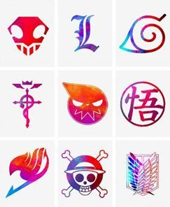 Otaku Test Can You Name The Logos Anime Answers Fanpop