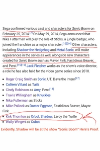 Shadow Will Arrive in the Sonic Boom TV Series. I have Evidence that proofs.