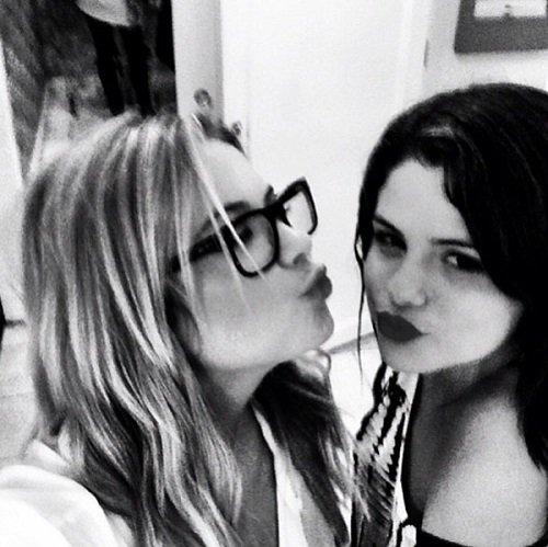 Post your favourite **Black and White** pic of Ashley Benson <3