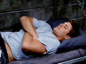 Post a pic of your actor lying down.