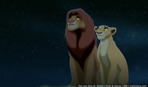 What do you think happened after that scene? Did they keep talking or did Nala leave Simba alone to think?