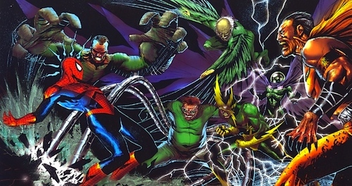 If the main villain for The Amazing Spider-Man 3 is the Goblin and the Sinister Six, who do आप think would be the six members?