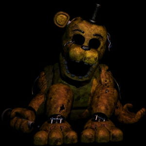 What will happen if আপনি stuff yourself in Golden Freddy suit?